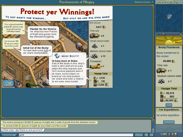 Puzzle Pirates Desktop 1