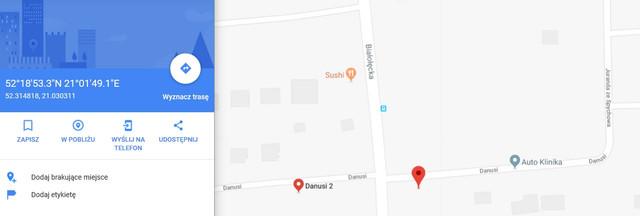 Danusi 2 Google Maps