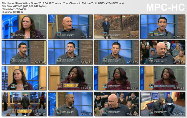 Steve Wilkos Show 2018 04 18 You Had Your Chance to Tell the Truth HDTV x264-FOX mp4