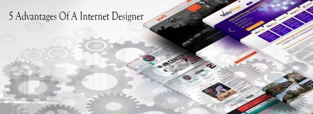 5 Advantages Of A Internet Designer