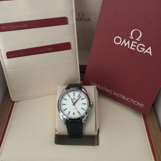OMEGA Aqua Terra 150 M Co Axial Chronometer 41 MM Ref 220 12