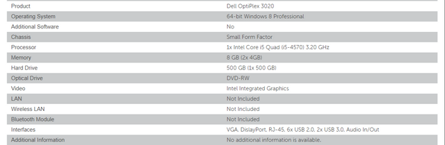 My first build with a Dell OptiPlex 3020   Netgate Forum