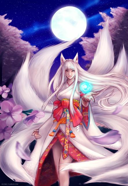 2 Kitsune human form
