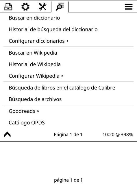 6 busqueda catalogo calibre y archivos