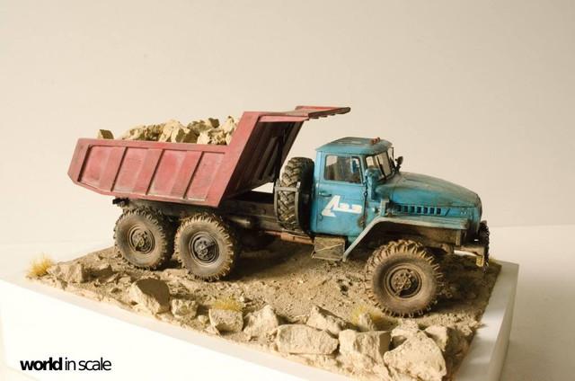 "Ural-4320 ""Dumper Truck"" - 1/35 by Trumpeter, Balaton Modell 25531937_960247497476099_3458018060776793942_o"