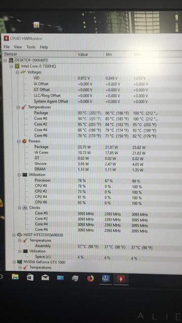 BIOS Update Causing High Temperatures On Alienware 15 R3
