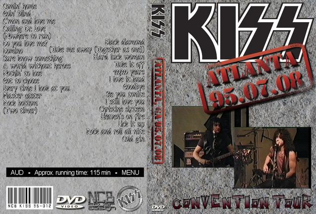 KISS - 1995-07-08 ~ Atlanta, GA Skulljam9 Edition - Guitars101