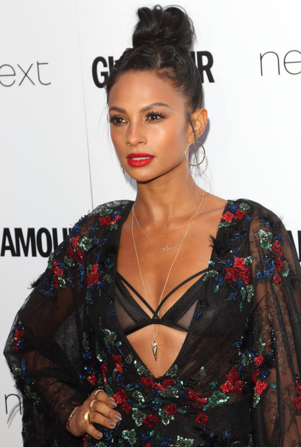 Alesha Dixon Glamour Women Of The Year Awards at Berkeley Square Gardens London on June 6th 2017 Pho