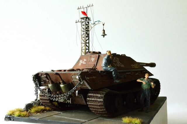 Jagdpanzer E-75 - 1:35 v. Trumpeter, Bolddivision DSC_2797