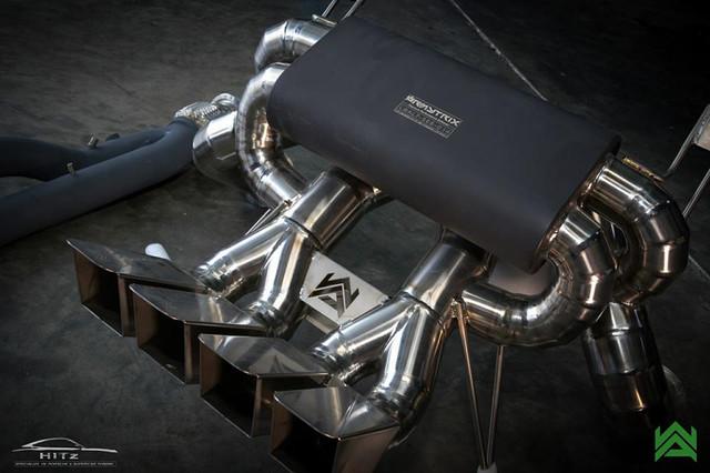 Aventador / SV / ARMYTRIX Titanium Exhaust & Ceramic Coated