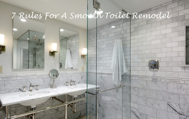 7 Rules For A Smooth Toilet Remodel