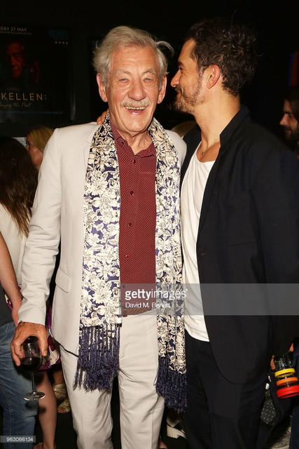 attends a special screening of Mc Kellen Playing the Part at the BFI Southbank on May 27 2018 in Lon