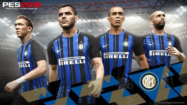 PES 2018: Konami anuncia nuevo Partner, el Inter de Milán