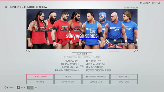 Universe Mode Thread - Page 5 - WWE2K19 - CAWs ws Forum