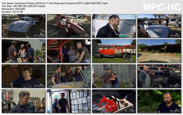 American Pickers 2018 04 11-Hot Rods and Customs HDTV x264-HISTORY mp4