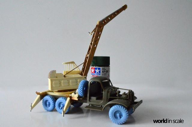 ZIL-157 + Bleichert-Crane - 1:35 by Trumpeter, ... 24958904_954753648025484_1152283837721082852_o