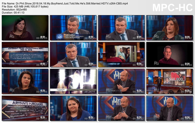 Dr Phil Show 2018 04 18 My Boyfriend Just Told Me He's Still Married HDTV x264-CBS mp4