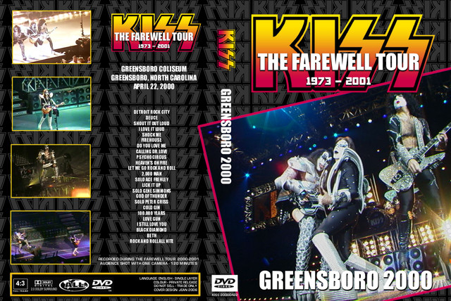 KISS - 2000-04-22 ~ Greensboro, NC - Guitars101 - Guitar Forums