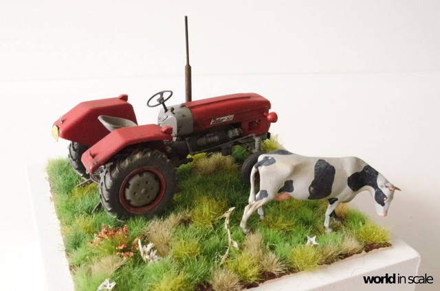 Zetor 3511 - 1:35 of SKP Models 23926204_946722065495309_8915723641244813580_o
