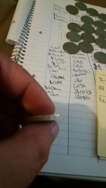 Moneda a Identificar (Islas Malvinas) C3