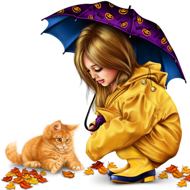 little-girl-in-raincoat-with-a-kitty-png-647ab8ea7274c71fb.png
