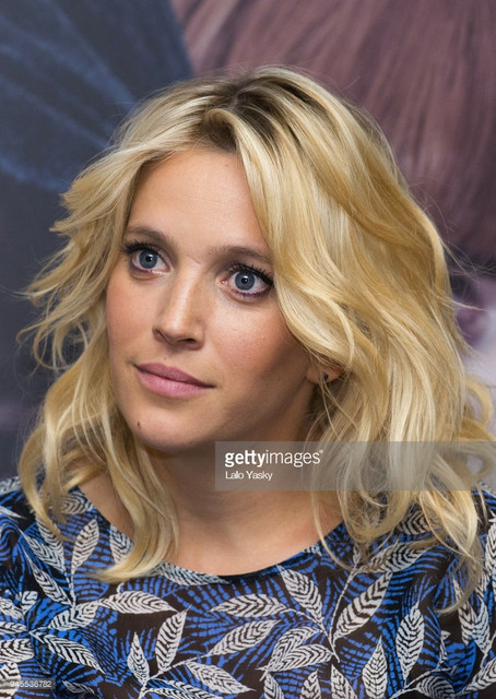 BUENOS AIRES ARGENTINA APRIL 12 Luisana Lopilato attends a press conference for Perdidas at the Inte