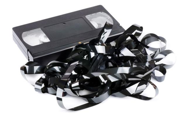 Tangled VHS Tape