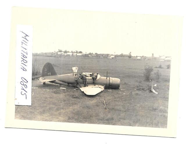 Foto 1942 Wehrmacht Vormarsch Abgeschossenes Flugzeug Polikarpow