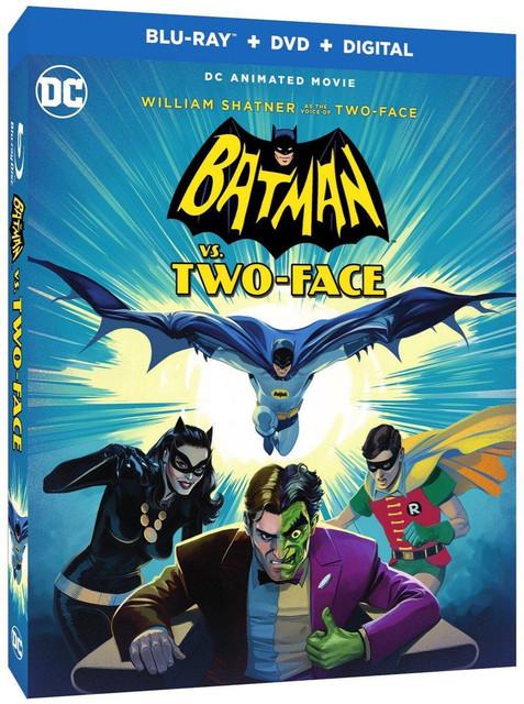 Batman vs  Two-Face [2017] DVD NTSC YG