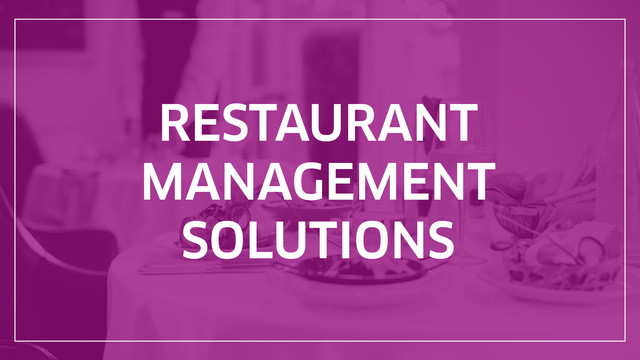 restaurant_management_solution