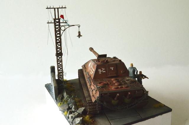 Jagdpanzer E-75 - 1:35 v. Trumpeter, Bolddivision DSC_2812
