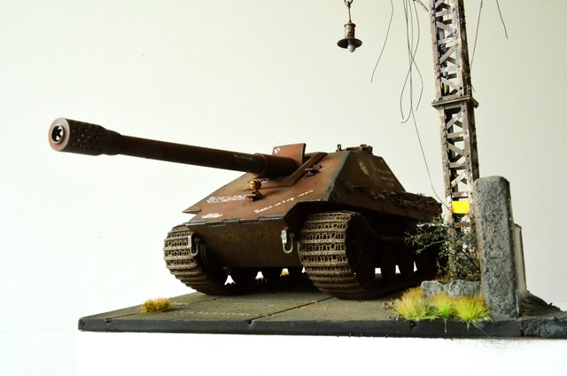 Jagdpanzer E-75 - 1:35 v. Trumpeter, Bolddivision DSC_2823