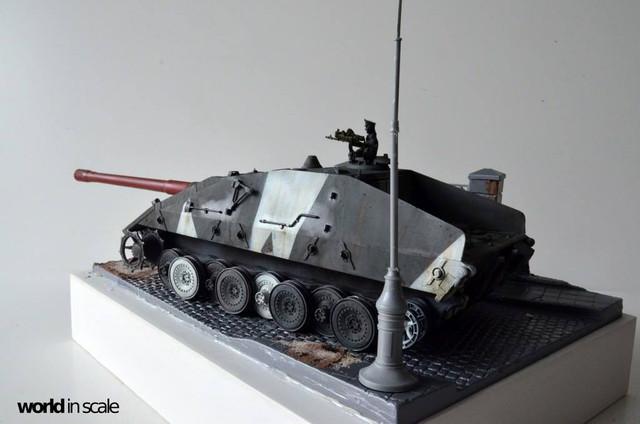 Jagdpanzer E-100 - 1/35 of Trumpeter 29314977_1011987085635473_3765299808659570688_o