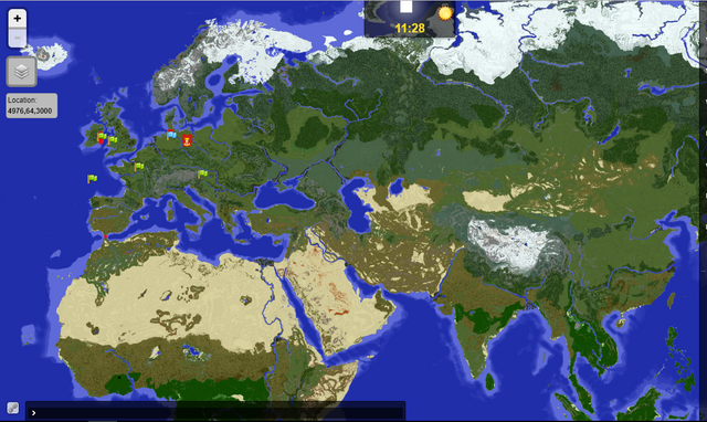Requesting earth map server minecraft market we are building up a wikipedia for us to capture the world and progress within gumiabroncs Choice Image