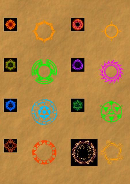 shadow symbols