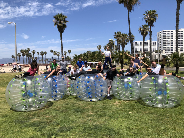 Bubble Soccer Party in Los Angeles hosted by AirballingLA | Party Rentals by AirballingLA
