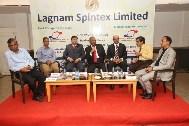 lagnam_Spintex_investor_meet