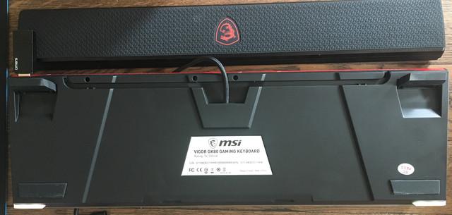 VIGOR GK80 Rueckseite - Testers Keepers mit MSI Vigor GK80 KW11