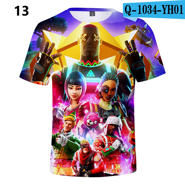 Battle-Royale-T-Shirts-Rainbow-Smash-Pony-Horse-Short-Sleeve-Tshirts-3-D-T-shirts-Boys-and-Q1034-YH01