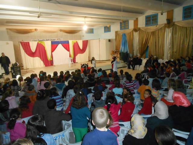 مسرحية كنوز من تونس في حفل الإختتام مهرجان الطفل