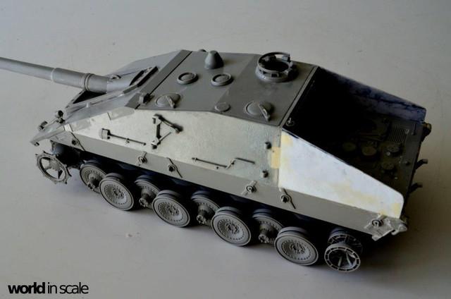 Jagdpanzer E-100 - 1/35 of Trumpeter 28514496_1003605363140312_8769520069901589249_o