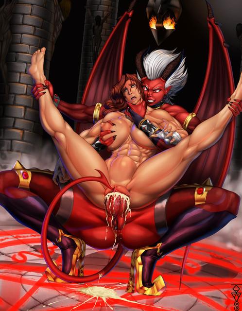 демоны порно фото