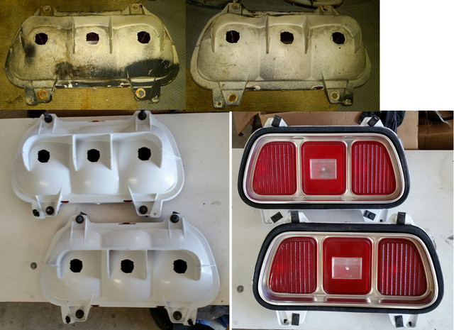 73 Mustang Tail Lights