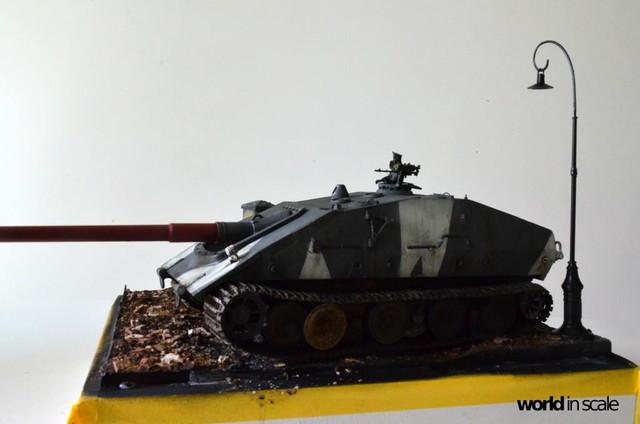 Jagdpanzer E-100 - 1/35 of Trumpeter 29352204_1016206415213540_7381042430121477210_o