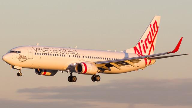 Virgin Australia 737 800 Maroubra Beach VH YID 290518 V3