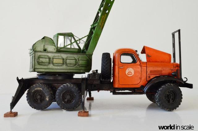 ZIL-157 + Bleichert-Crane - 1:35 by Trumpeter, ... DSC_0826_1024x678