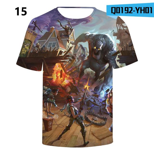 Battle-Royale-T-Shirts-Rainbow-Smash-Pony-Horse-Short-Sleeve-Tshirts-3-D-T-shirts-Boys-and-Q0192-YH01