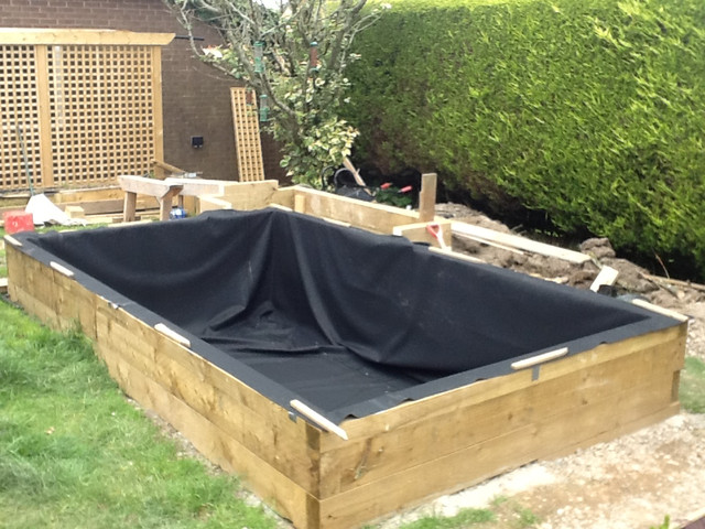 My new build pond 10 000 litres semi raised page 9 for Pond veggie filter