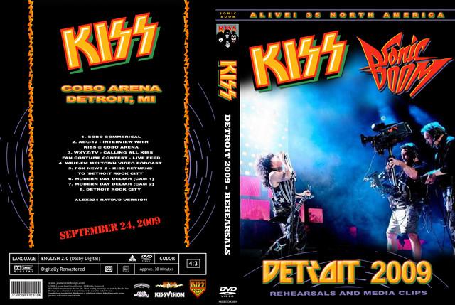 KISS - 2009-09-24 ~ Detroit, MI Rehearsals - Guitars101 - Guitar Forums