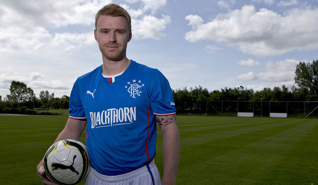 The new Rangers home away third kit